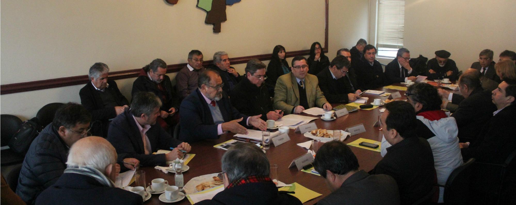 Con alta convocatoria se realiza encuentro de Asociaciones Municipales en Msur