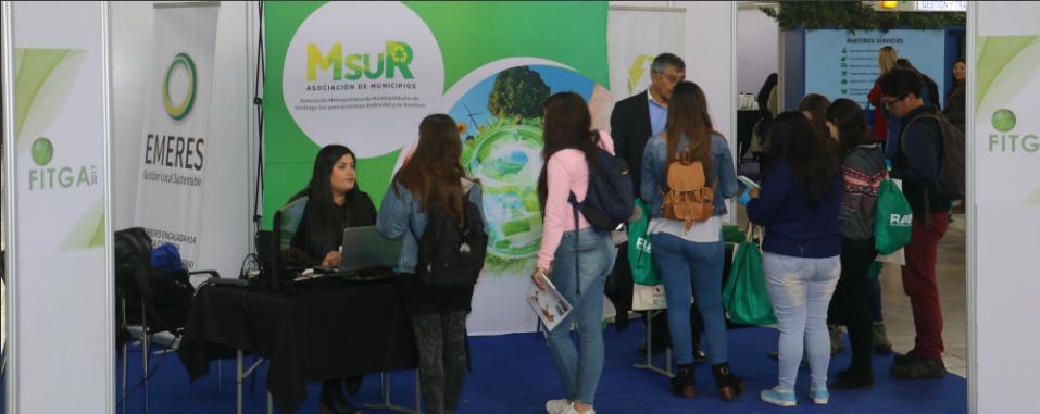 MSUR Y EMERES participan con éxito en Feria de Innovación y Gestión Medio Ambiental, FITGA 2017.