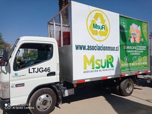 Programa Msur Recicla en Curacaví
